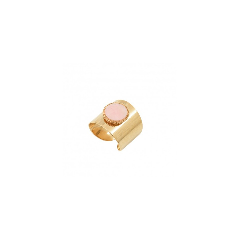 Bague Lady XL Opale Rose