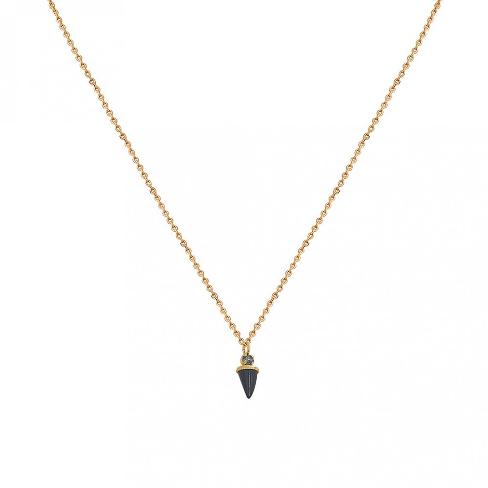 Collier Sharp Onyx