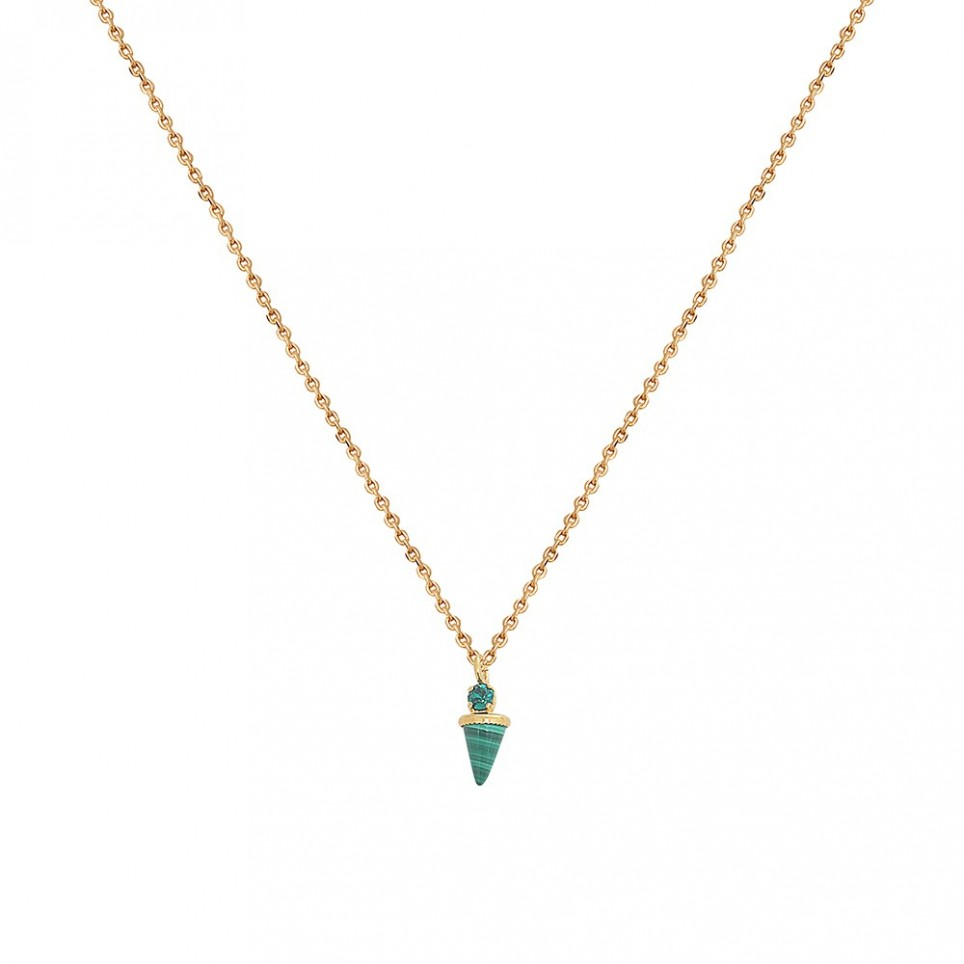 Collier Sharp Nacre Blanche
