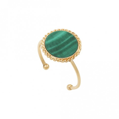 Bague Lady Malachite