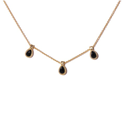 Collier Hasna Onyx