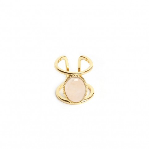 Bague Adrianne Quartz Rose