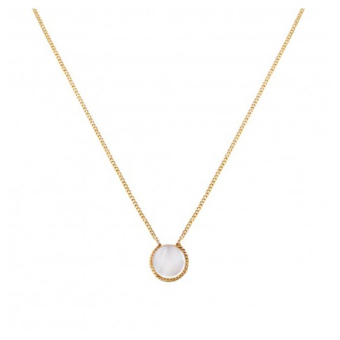 Collier Lady Nacre Blanche