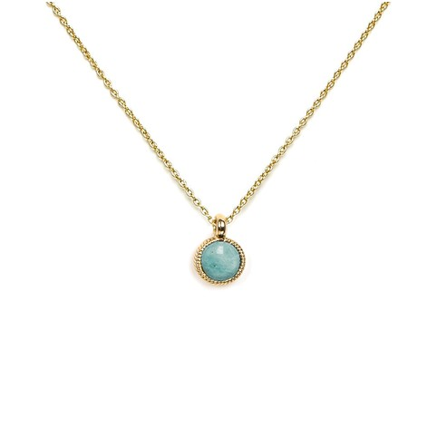 Collier Aline Amazonite
